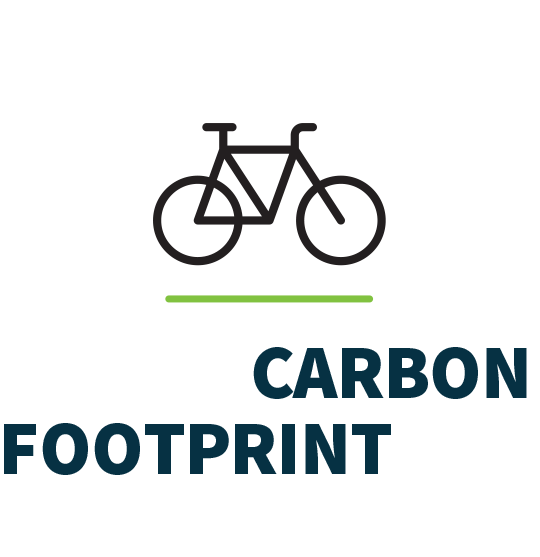 Decrease CARBON FOOTPRINT from vehicles