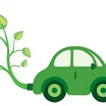 green-car-leaves