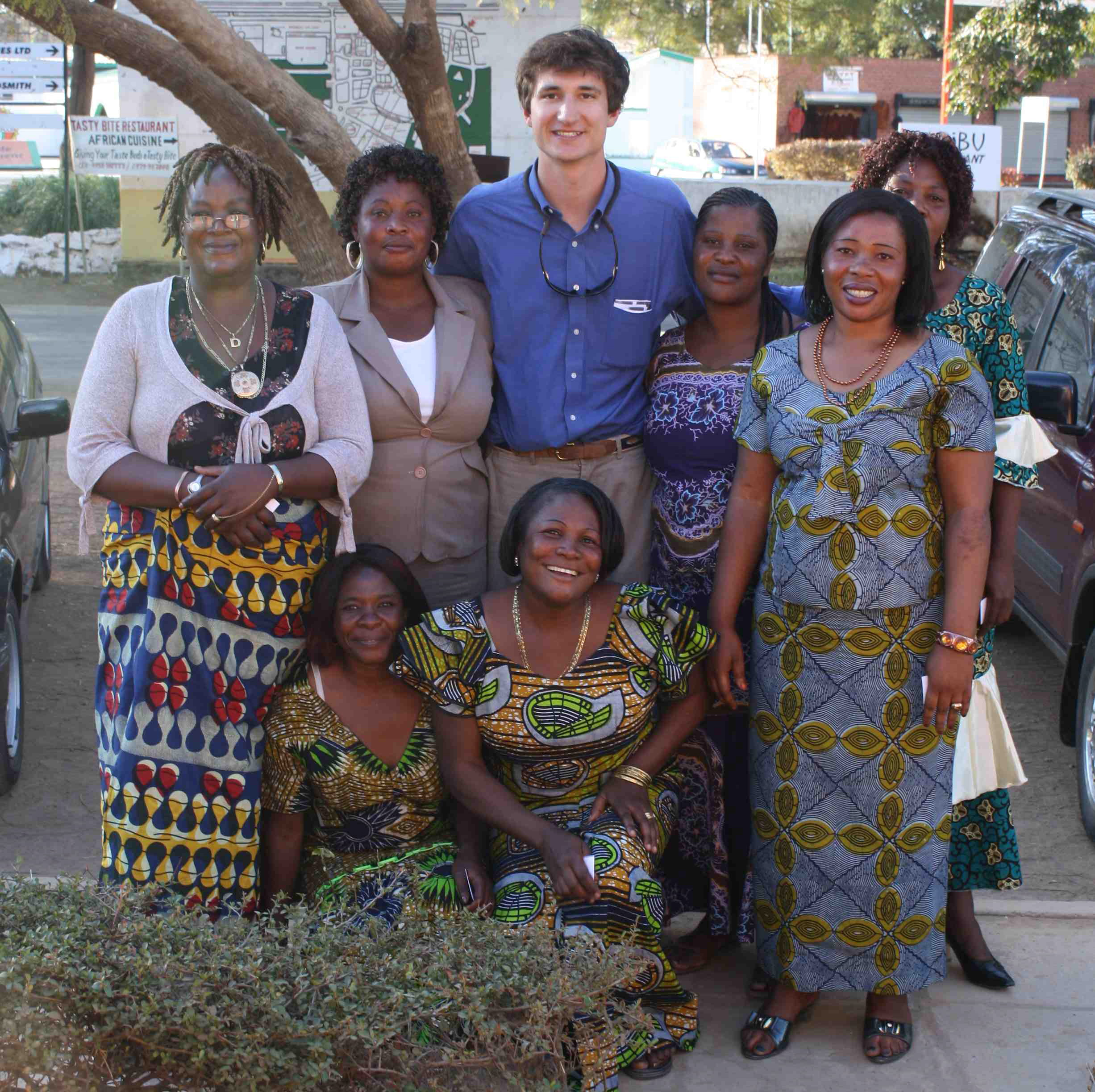 Kitchen Party Wyatt Smith A Blog Archive A Crashing A Kitchen Party In Zambia