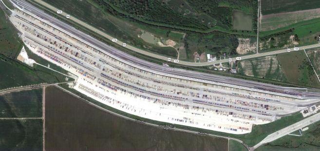 Intermodal Freight Network – User Interface Development