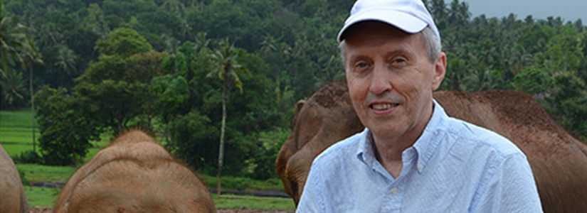 George Hornberger, Director of VIEE, leads an NSF-sponsored project in Sri Lanka that studies how small rice farming communities in Sri Lanka respond to drought and other climatic changes.