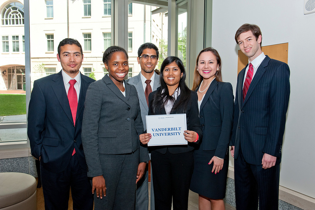 2012 Vanderbilt Global Health Case Competition Team