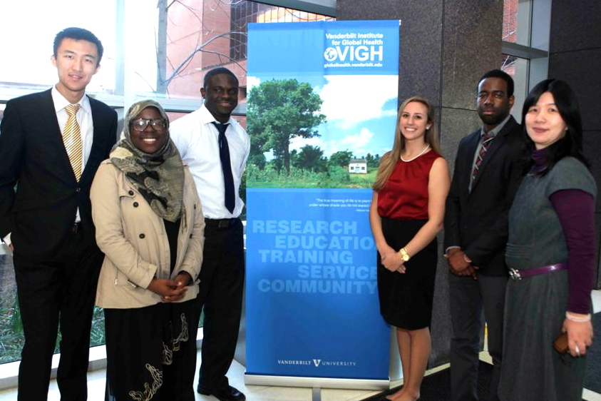 Students from the 2013 Global Health Case Competition