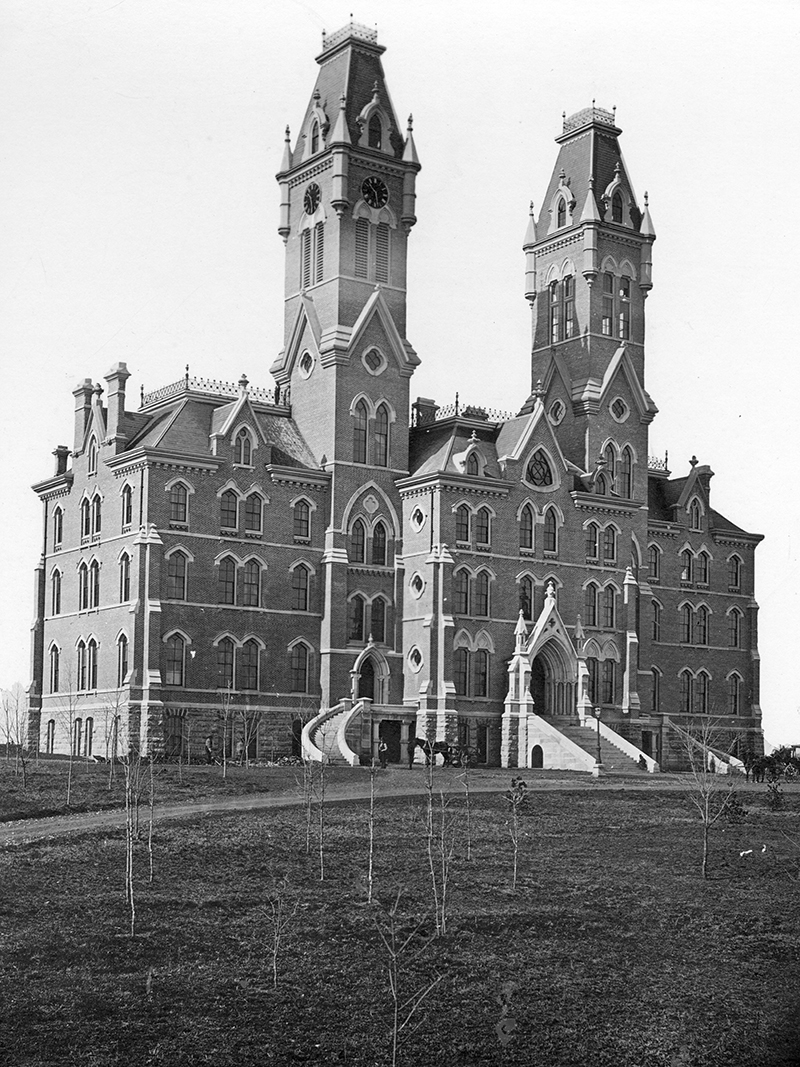 Kirkland Hall in 1875