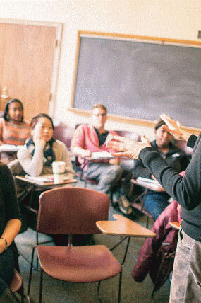 You'll thrive with our 7:1 student-to-highly-dedicated-faculty ratio.