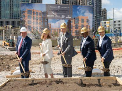 Vanderbilt breaks ground on graduate and professional student housing development