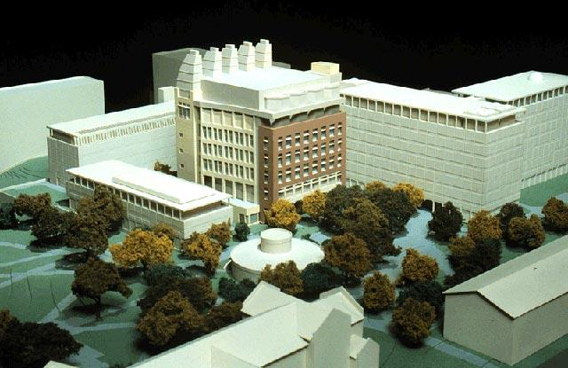 site model for the chemistry building