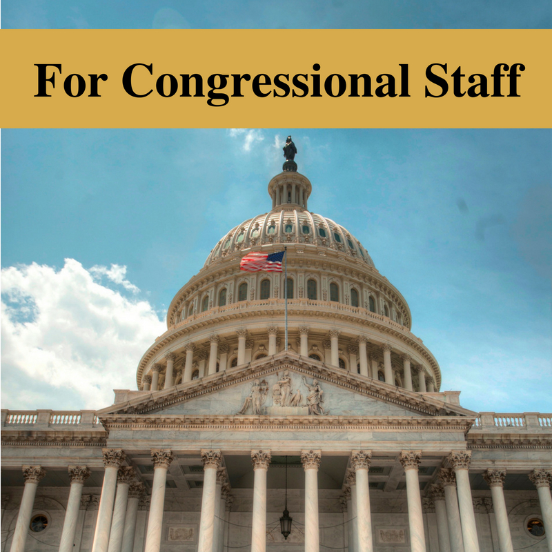 For Congressional Staff