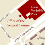 Attorneys & Staff Location (2100 West End)