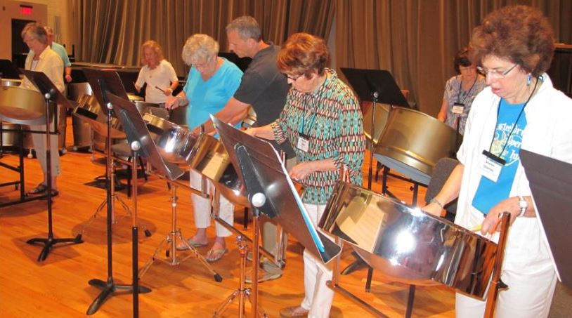 Steel Drum Class Summer 2014